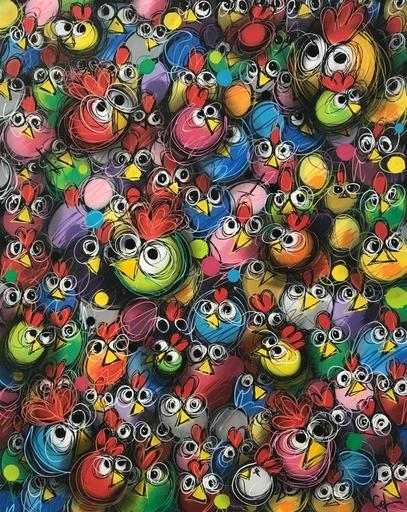 CEET - Gemälde - Los Ninhos