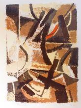Toti Antonio SCIALOJA - Grabado - Abstract Landscape