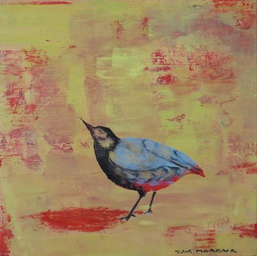 Tung-Wen MARGUE - Painting - Le chant des oiseaux (3)