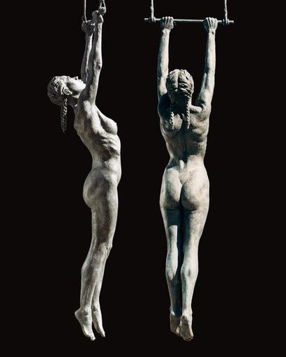 Daphné DU BARRY - Sculpture-Volume - La Trapezista