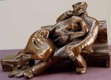 """Karel DVORAK - Escultura - """"To America"""""""