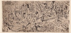 Jules PASCIN - Print-Multiple - On the South