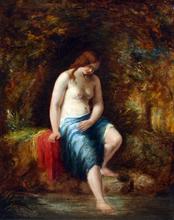 William ETTY - Pintura - Bather