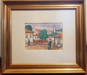 Nicolae TONITZA - Painting - Mangalia