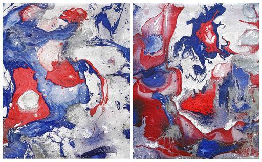 Sumit MEHNDIRATTA - Painting - Composition No.158