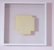 Robert MANGOLD - Estampe-Multiple - a square with four squares cut away