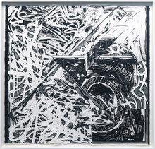 Frank STELLA - Estampe-Multiple - Swan Engraving VIII