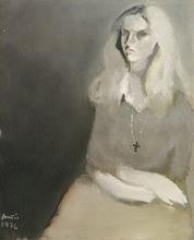 Constantino GRANDIO - Pintura - dama