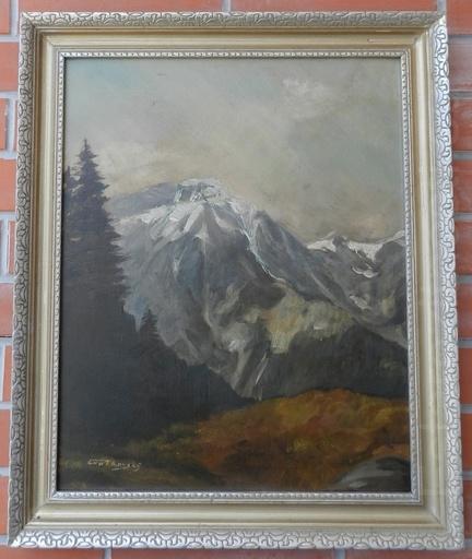 Jan GROTKOVSKY - Painting - Tatranské štíty