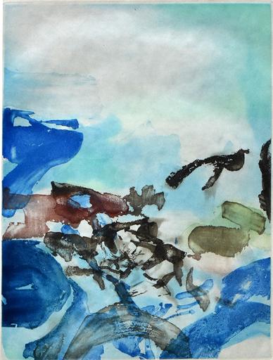 赵无极 - 版画 - Composition I, from Rambles | Randonnées
