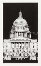 罗伯特•隆戈 - 版画 - Untitled (Capitol Detail)