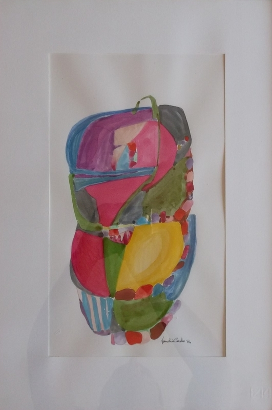 Carlo VANCHIERI - Drawing-Watercolor