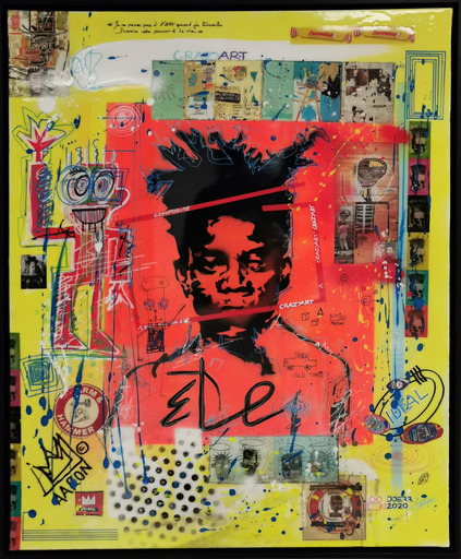Dominique DOERR - Peinture - Crazy art Basquiat