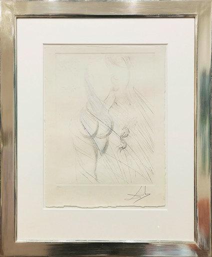 萨尔瓦多·达利 - 版画 - Cassandre – Nu