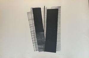 "Hans HARTUNG - Estampe-Multiple - Lithographie ""Farandoles IV"""