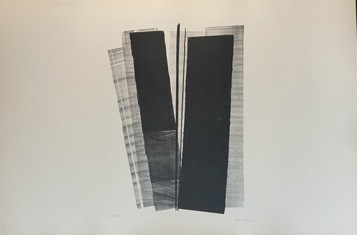 "Hans HARTUNG - Stampa-Multiplo - Lithographie ""Farandoles IV"""