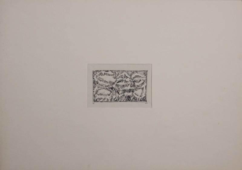 Romano NOTARI - Dibujo Acuarela - Senza titolo