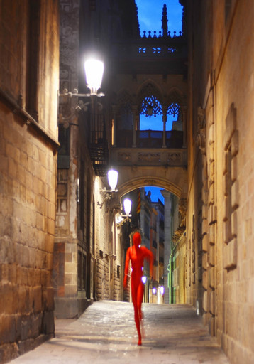 "Dmitry SAVCHENKO - Fotografia - ""Mystical Gothic Quarter. Barcelona"""
