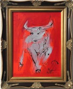 Nicole LEIDENFROST - Gemälde - Der Börsenstier