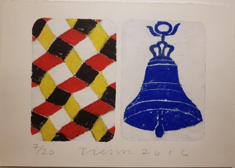 Joe TILSON - Print-Multiple - The Stone of Venice