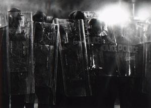 Robert LONGO - Estampe-Multiple - Untitled (Riot Cops)
