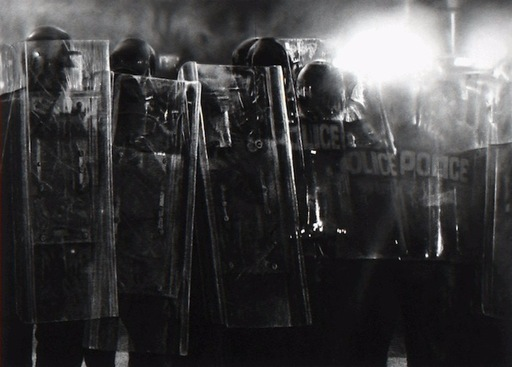 Robert LONGO - Grabado - Untitled (Riot Cops)