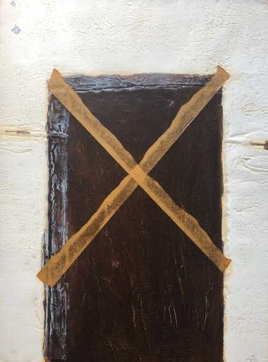 安东尼•塔皮埃斯 - 版画 - La grande porte