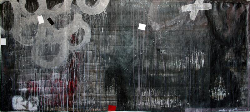 Kakhaber TATISHVILI - Peinture - Composition