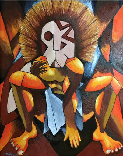 Philippe ARVIN - Peinture - Africa