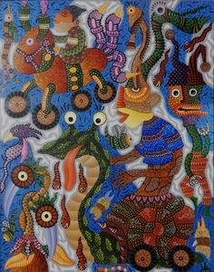 KUSBUDIYANTO - Painting - Kid's Imagination