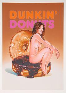 Mel RAMOS - Druckgrafik-Multiple - Dunkin Donut