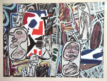 Jean DUBUFFET - Estampe-Multiple - FAITS MEMORABLES I