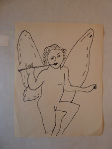 Andy WARHOL, Untitled Angel
