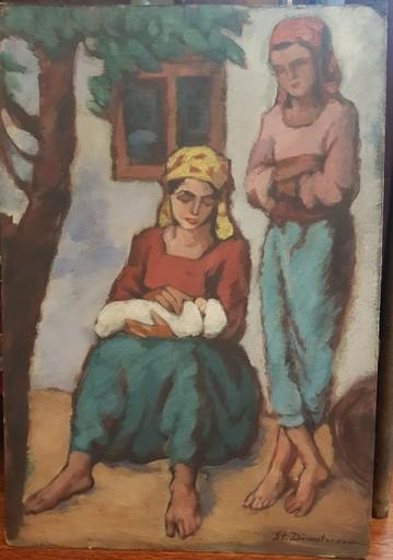 Stefan DIMITRESCU - Gemälde - Maternal