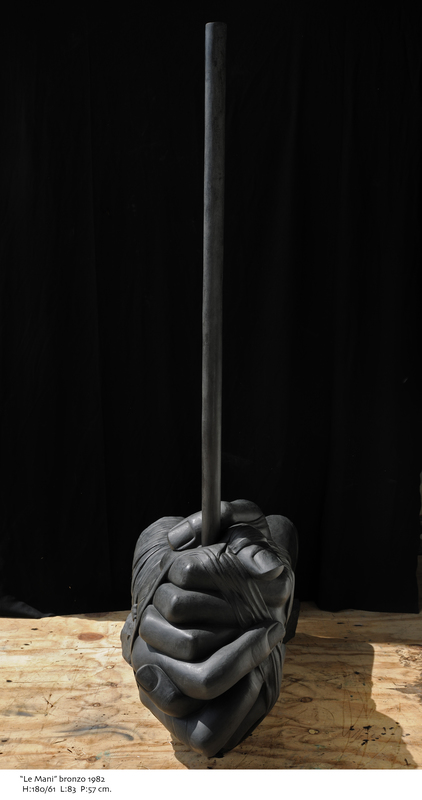 Igor MITORAJ - Sculpture-Volume - Le mani