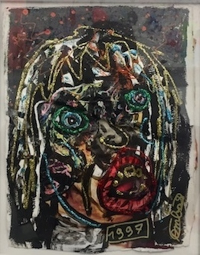 Robert COMBAS - Gemälde - Sans titre