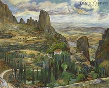 Rafael ZABALETA FUENTES - Painting - Castillo de Tíscar (Tíscar - Don Pedro), Quesada)