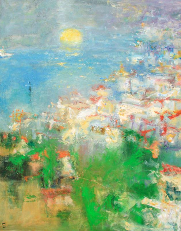 Levan URUSHADZE - Pittura - Daybreak