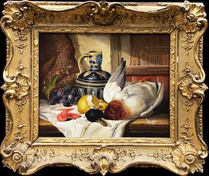 Edward LADELL - Painting - Still Life