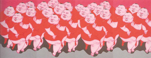 ZHANG Jianjun - Painting - Chinese Fatties