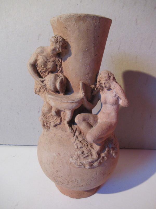 Léon FOURQUET - Sculpture-Volume - La toilette