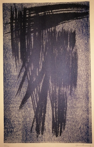 Hans HARTUNG - Grabado - Abstraction
