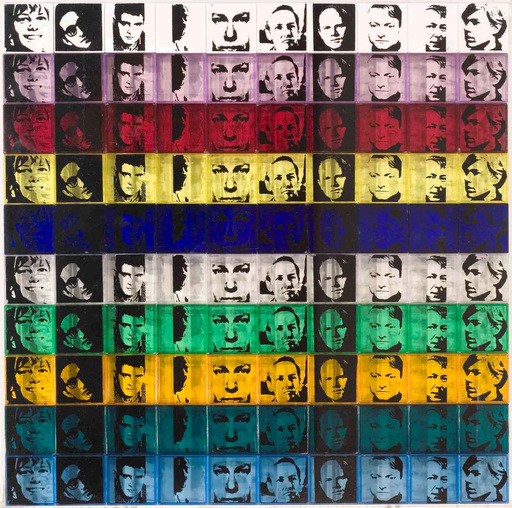 Andy WARHOL - Print-Multiple - Portraits of the Artists