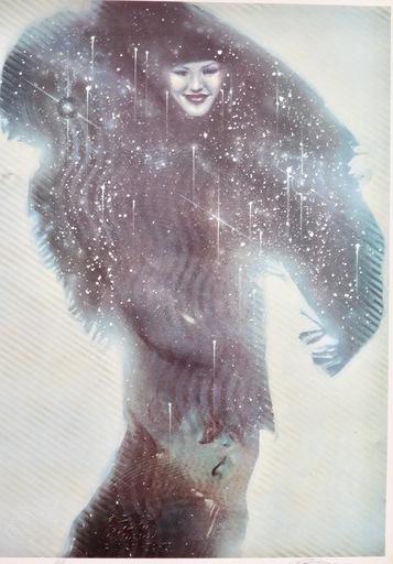 Michael R. WHIPPLE - 版画 - The Magic Shawl