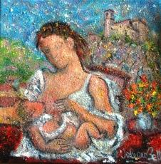 Valerio BETTA - Pintura - Maternità