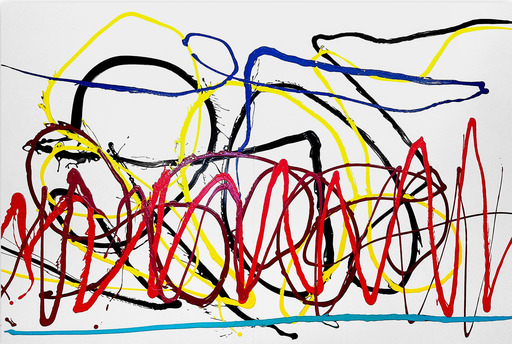 Dana GORDON - Painting - Saga
