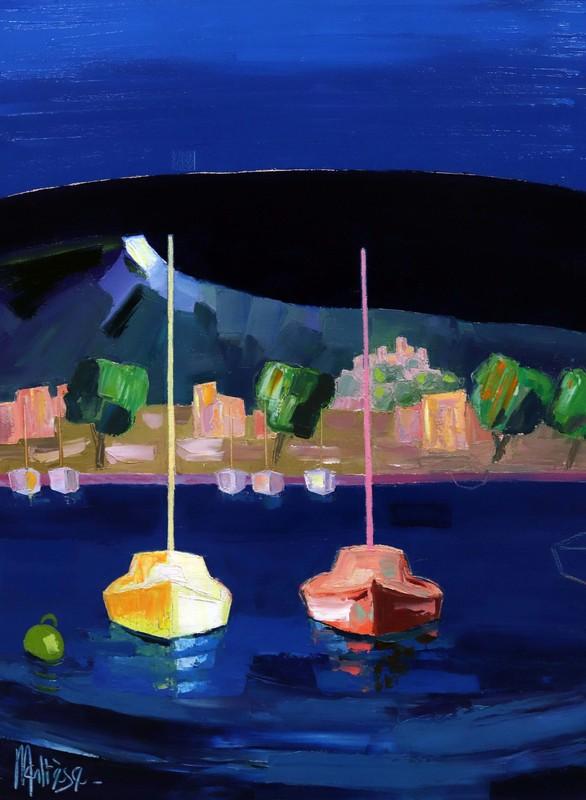 Jean-Pierre MALTESE - Pittura - Eclat de lumière