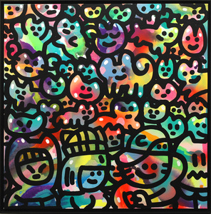 CHANOIR - Painting - Cha Color Party