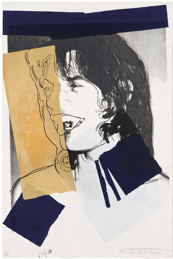 Andy WARHOL - Stampa-Multiplo - Mick Jagger (FS II.142)