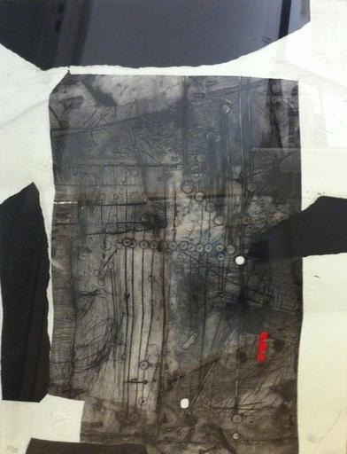 Antoni CLAVÉ - 版画 - Composition noire